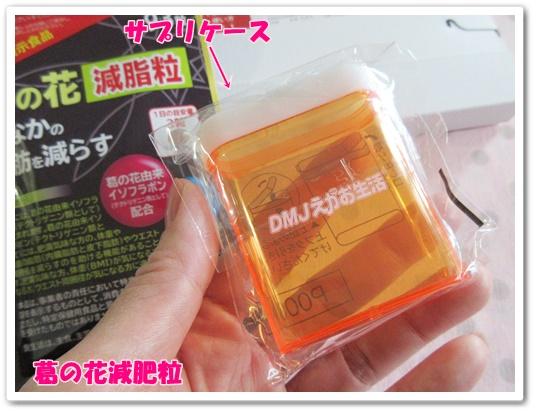 dmjえがお生活 葛の花減肥粒 口コミ 効果 相田翔子 ダイエットサプリメント サプリケース