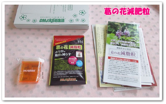 dmjえがお生活 葛の花減肥粒 口コミ 効果 相田翔子 ダイエットサプリメント 届いたもの