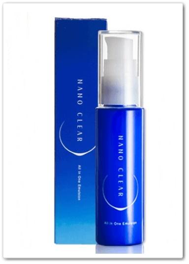 ナノクリア 口コミ ファビウス ラメラブースター オールインワン化粧品 効果 最安値 容器