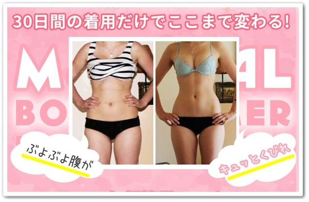 マジカルボディスリマー 口コミ 効果 通販 最安値 女性用加圧着圧ダイエットインナー 肌着 痩せる 使用前使用後