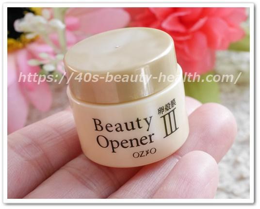 オージオ ビューティオープナーオイル 口コミ 効果 卵殻膜エキス 美容液 オールインワンゲル 容器