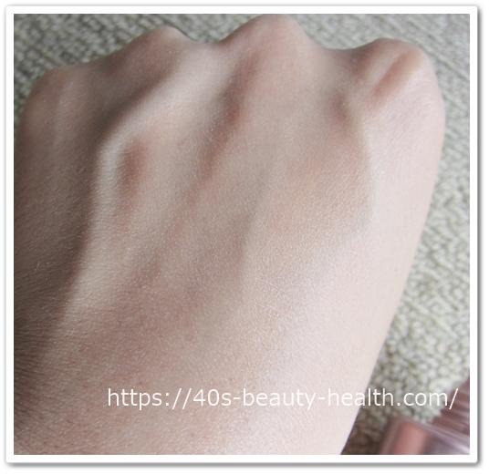 アテニア フュージョンスキンファンデーション ラスターフィニッシュ 口コミ 効果 40代 肌につやが出るファンデ テクスチャー3
