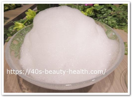 hana orgamic ハナオーガニックリセットシャンプー 口コミ 白髪染め パーマ 40代 頭皮 髪 常在菌 テクスチャー 泡