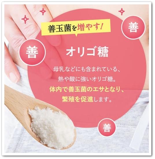 bisera ビセラ 口コミ 効果 乳酸菌サプリ 腸内フローラ オリゴ糖