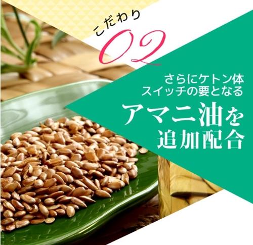 ケトジェンヌ 口コミ ケトン体 ダイエットサプリメント けとじぇんぬ 効果 成分 アマニ油
