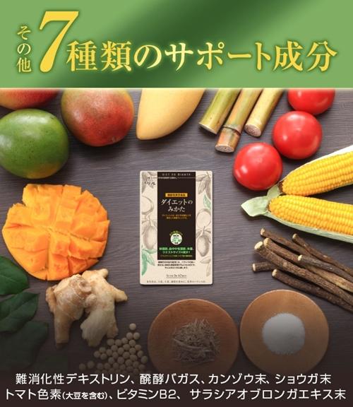 リフレ ダイエットのみかた 口コミ 効果 アフリカンマンゴノキ由来エラグ酸 成分2