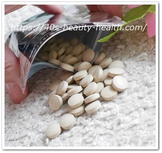 リフレ ダイエットのみかた 口コミ 効果 アフリカンマンゴノキ由来エラグ酸 ダイエットの味方 パッケージ 粒出す