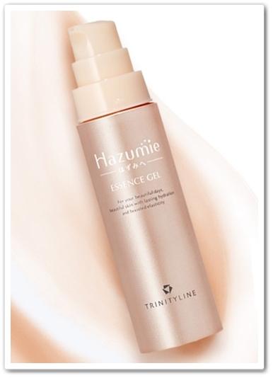 hazumie はずみへ 口コミ 効果 大正製薬 オールインワンジェル美容液 はずみえ 容器3