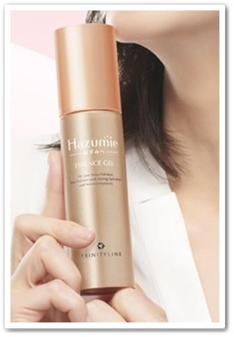 hazumie はずみへ 口コミ 効果 大正製薬 オールインワンジェル美容液 はずみえ 容器2