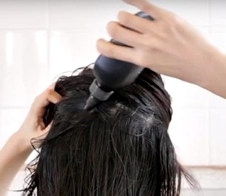 トリコレ(Tricore) 温感ヘッドスパトリートメント 口コミ 効果 感想 評価 評判 販売店 ブログ 髪への使い方2