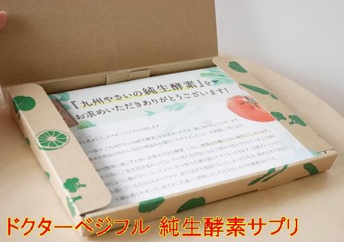 ドクターベジフル 純生酵素サプリ 口コミ 効果 九州野菜の生酵素サプリでスッキリ美ボディサポートサプリメント 40代 感想 評価 評判 ブログ 箱2